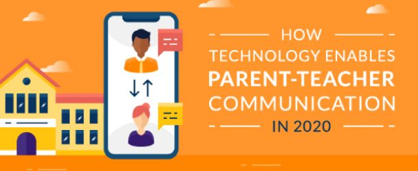 Image Representing The Concept Of How Technology Enables Parent Teacher Communication In 2020.