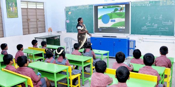 Future Smart Classroom For Kindergarden.