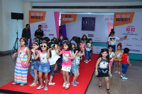 Kids Fashion Show - Fun Element In Welcome Party